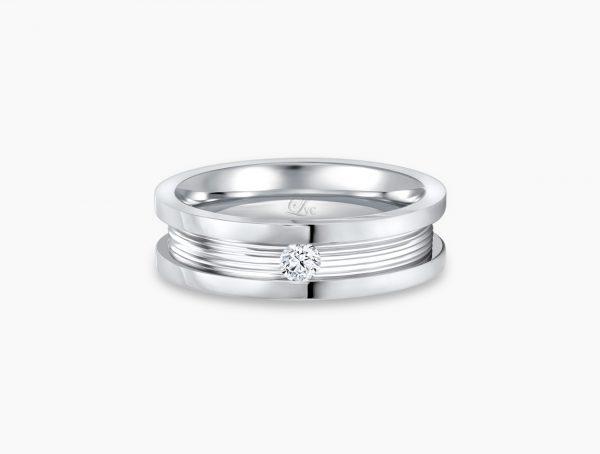 Love and Co Wedding Band LDW400B-C