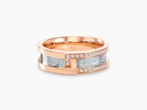 Love and Co Wedding Band LDW137B-C