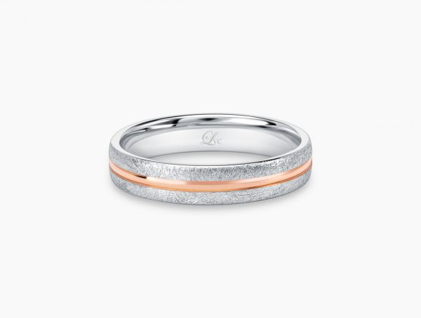 Love and Co Wedding Band LDW640A