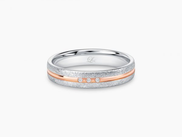 Love and Co Wedding Band LDW640B