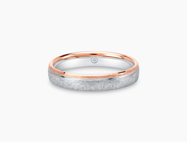 Love and Co Wedding Bands LDW642A