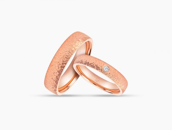 Love and Co Wedding Bands LDW643 Couple