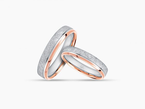 Love and Co Wedding Bands LDW644 Couple