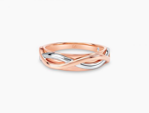 Love and Co Wedding Band LDW645A