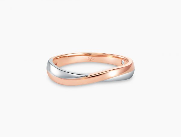 Love and Co Wedding Band LDW647A