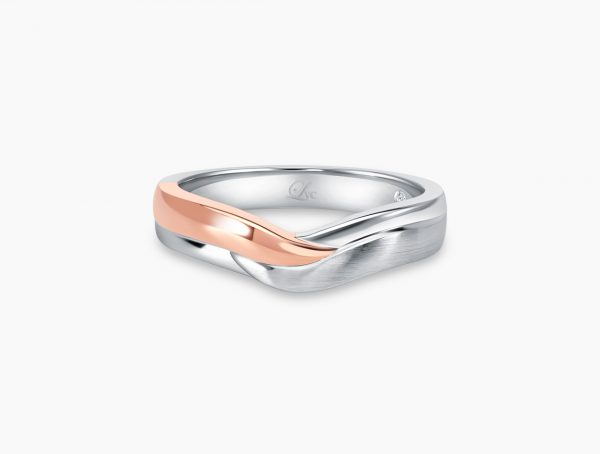Love and Co Wedding Band LDW648A