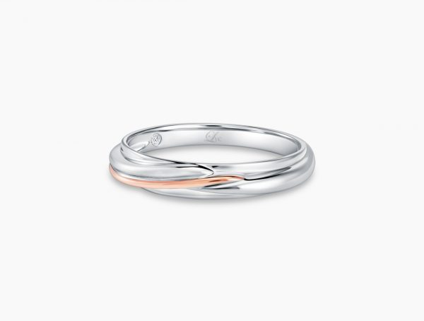 Love and Co Wedding Band LDW652A