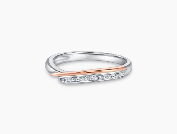 Love and Co Wedding Band LDW652B