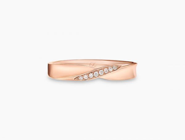Rose Gold Wedding Rings Singapore