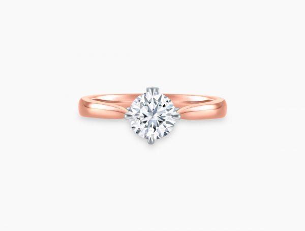 Singapore Rose Gold Wedding Rings